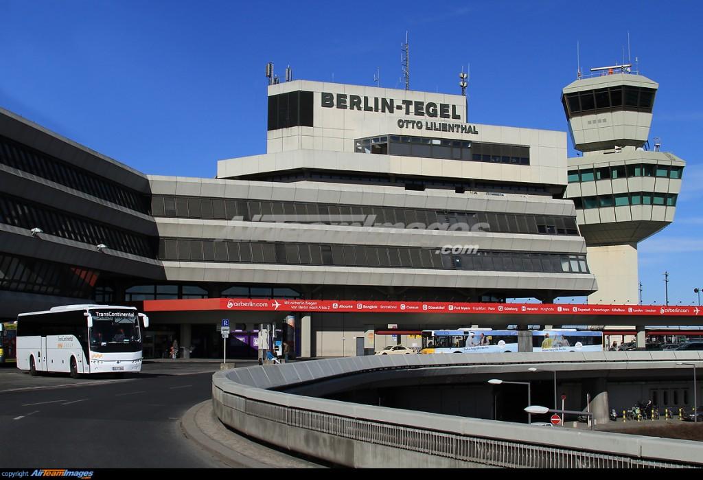 Arrived at berlin tegel international airport today for Flughafen tegel