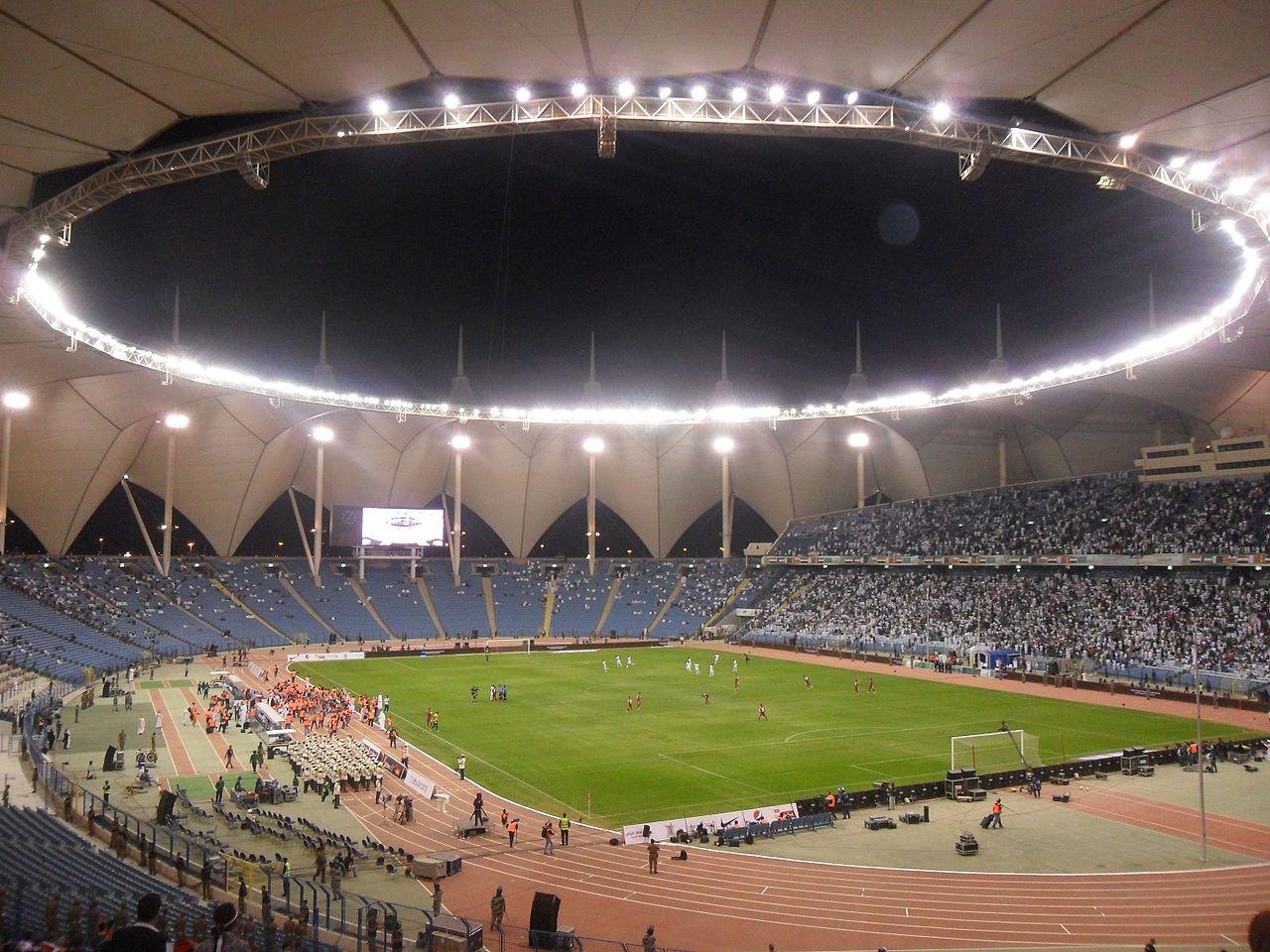 King Fahd International Stadium in India