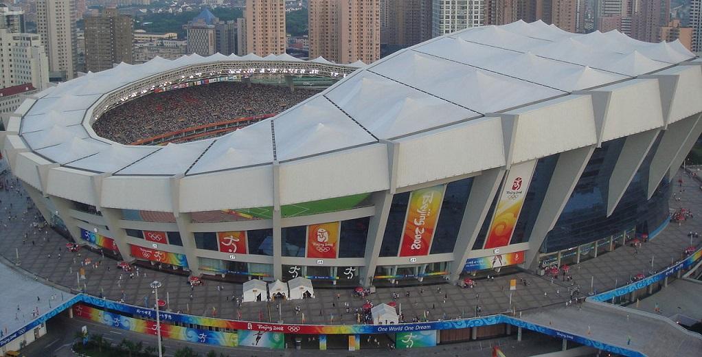 shanghai stadium in china