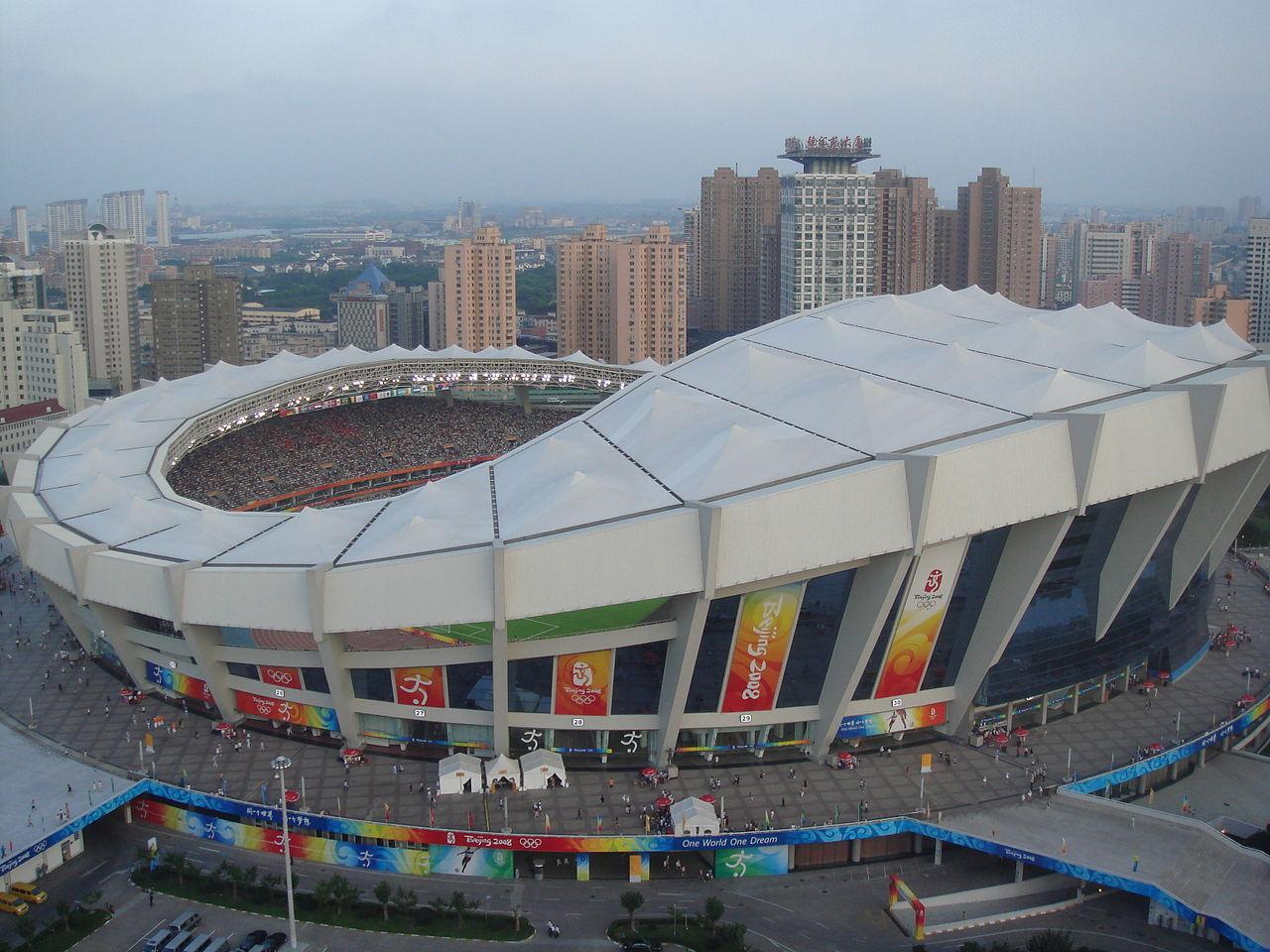 shanghai stadium in japan